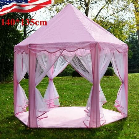 kids play tents for girls 55 large girls pink princess. Black Bedroom Furniture Sets. Home Design Ideas
