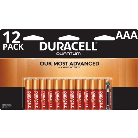 Aaa Tanzanite (Duracell Quantum Alkaline AAA Batteries with PowerCheck 12 Pack)