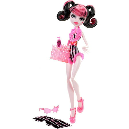 Monster High Doll, Beach Beasties - Draculaura - Wigs For Monster High Dolls