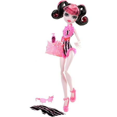 Monster High Doll, Beach Beasties - Draculaura