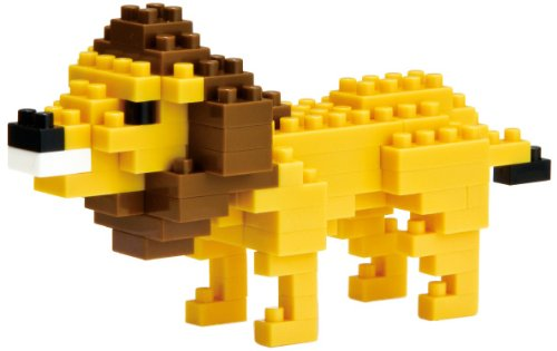 Lion..., By Nanoblock Ship from US by