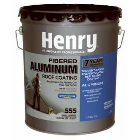 5 Gallon Ultra Grade Fibered Aluminum Roof Coating