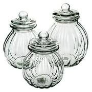 Global Amici Onion Glass Jars - Set of 3