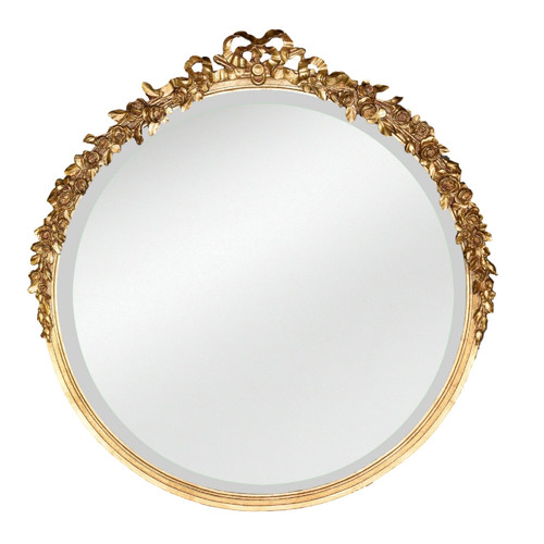 Hickory Manor House Round Rose Mirror