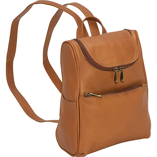 Le Donne Leather Women's Everyday Backpack Purse