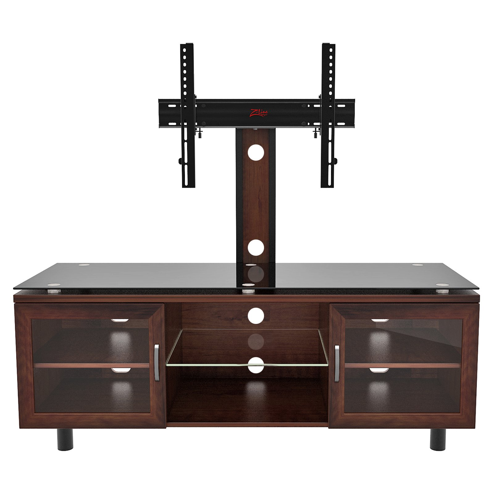 Positano Tv Stand With Integrated Mount For Tvs Up To 70 Espresso