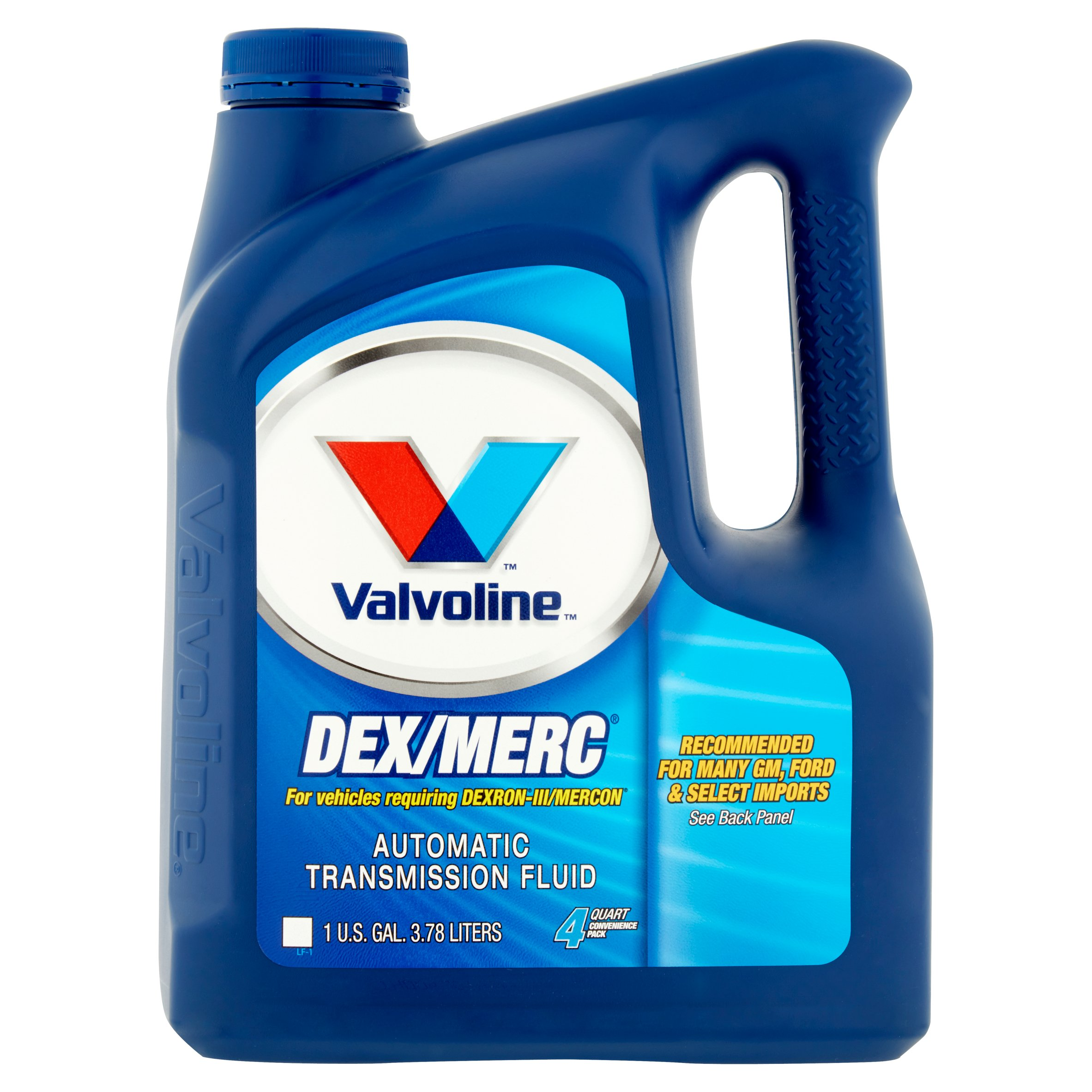 Valvoline DEX/MERC Automatic Transmission Fluid 4 Quart Convenience Pack 1 gal.