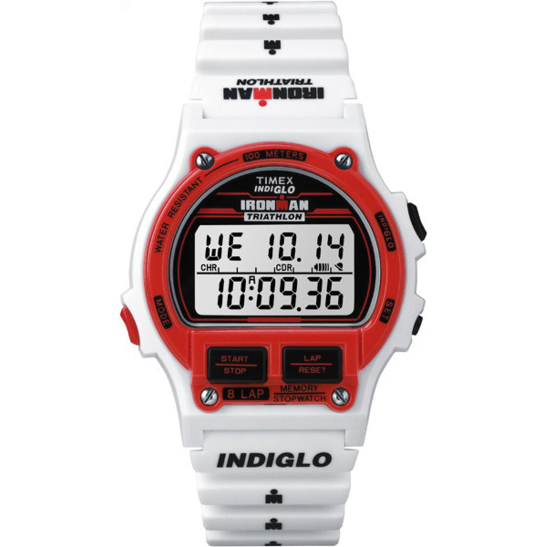 Timex Ironman Triathlon Original 8-Lap Recall Timer Stopwatch Resin Sport Watch by Timex