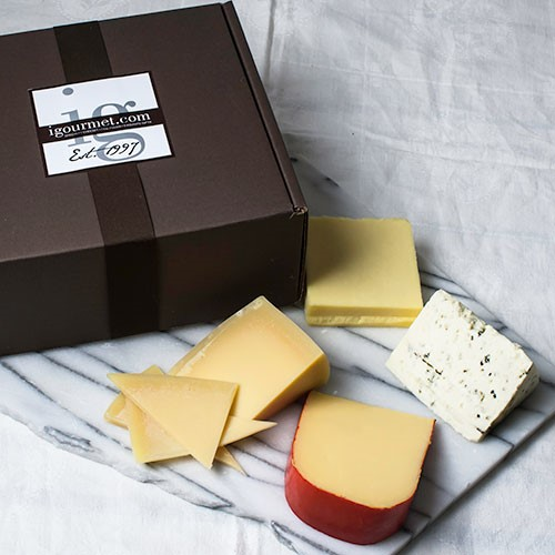 Four Continents of Cheese in Gift Box