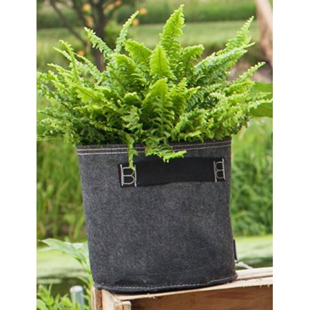 Bloembagz Down Dirty Fabric Grow Bags Pot Planter 3 Gallon