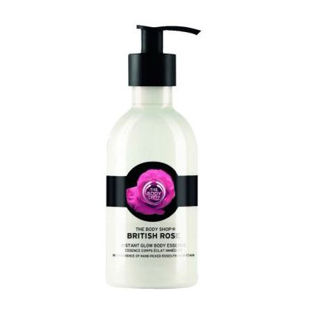 The Body Shop British Rose Instant Glow Body Lotion, 8.4 (British Rose Instant Glow Body Essence Review)