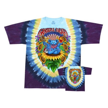 Grateful Dead - Guru Bear Apparel T-Shirt - Tie Dye (Dye Clothes)