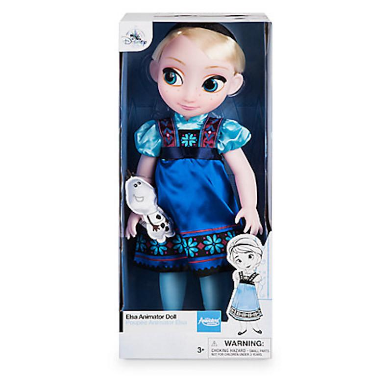 Disney Store Animator Doll Elsa with Baby Olaf New with Box
