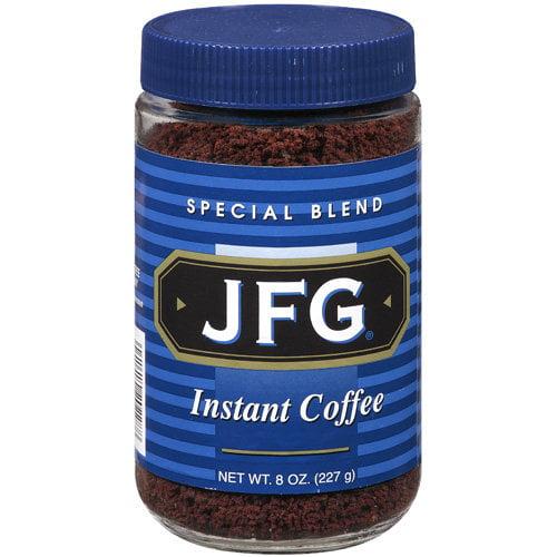 JFG Instant Coffee, 8 oz