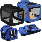 We offer Dog Crate Soft Sided Pet Carrier Foldable Training Kennel Portable Cage House [Istilo236781
