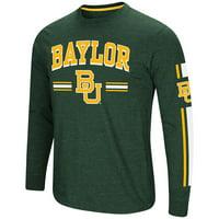 """Baylor Bears NCAA """"Touchdown"""" Men's Dual Blend Long Sleeve T-Shirt"""