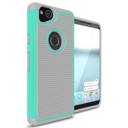 CoverON Google Pixel 2 Case, HexaGuard Series Hard Phone