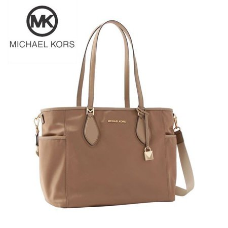 Michael Kors Connie Large Diaper Bag in Dark Khaki