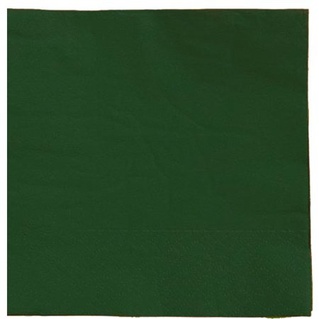 Exquisite Disposable Luncheon & Dinner Napkins - Bulk 50 Count - Dark Green - High Quality Paper Napkins for Cocktail Parties, Birthdays, Weddings, Bridal & Baby - Bridal Shower Paper Products