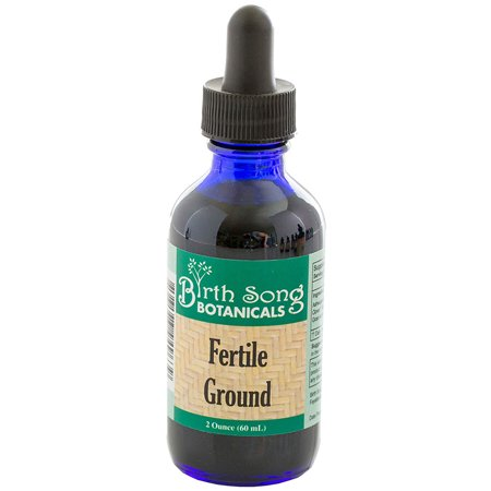 Birth Song Botanicals Fertile Ground Best Fertility Liquid Tincture with Top Herbal Blend, 2 (Best Vg E Liquid)