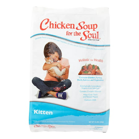 Chicken Soup For The Soul Life Stages Kitten Dry Cat Food, 15 - Chicken Life