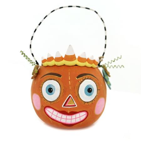 Halloween HALLOWEEN MINI BUCKET Paper Glitterville Pumpkin - Halloween Pumpkin Buckets