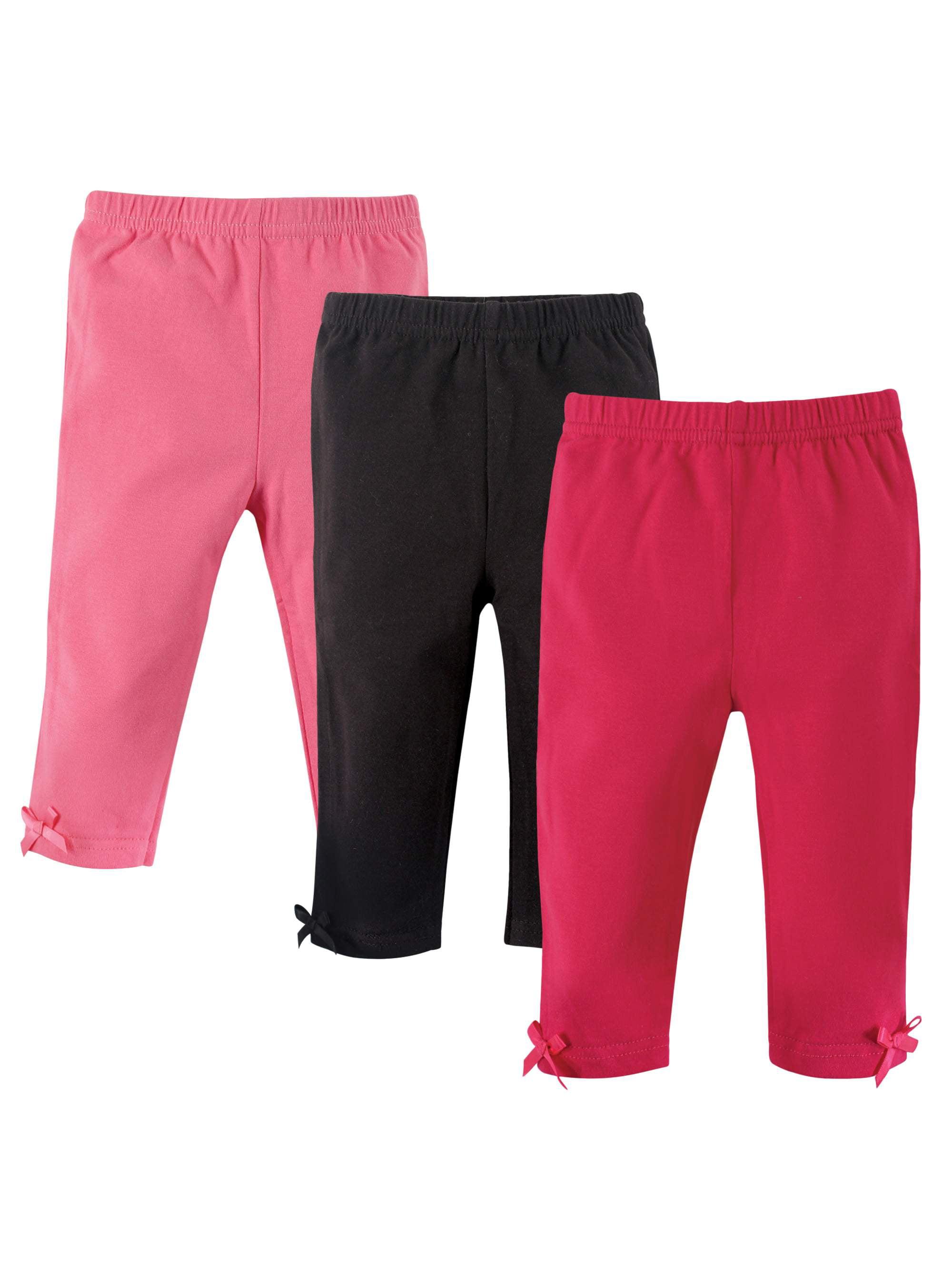 Girl Leggings, 3-pack