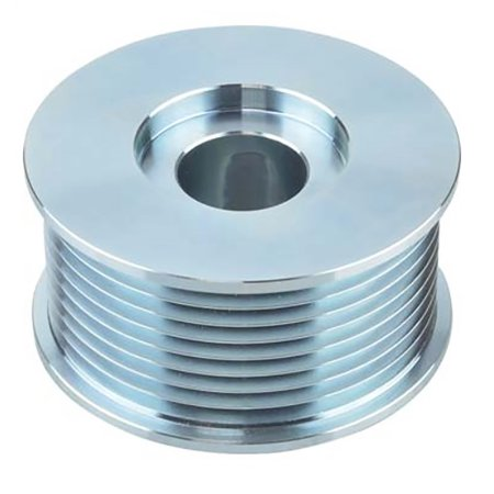 New Alternator Pulley For Freightliner 01-26102, 01-26102-000, 8-Grooves, 0.87 / 22.22mm ID, 2.93 / 74.5mm OD