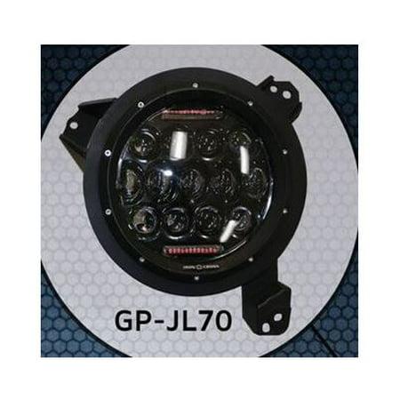 iron cross gp-jl70 headlight assembly - led headlight assembly- led - image  1