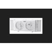 Lasko Twin Window Fan 10.5 in. H x 21-3/4 in. L x 4-3/4 in. W x 7 in. Dia. 2 speed AC 6 blade Whi