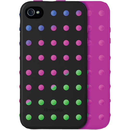XTREMEMAC 02458 iPhone(R) 4/4S Microshield Layers (Black/Multicolor)
