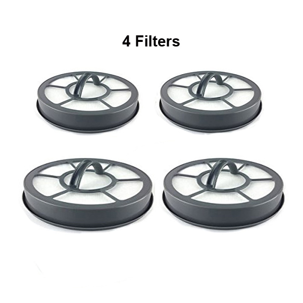 Eureka Sanitaire AS3001 Airspeed Exact, EF7 Vacuum Cleaner 4-Pack Filters // 091541