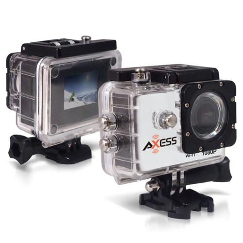 Axess HD Sports Camera 1080p CS3602-WT White