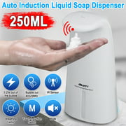 Battery Operated Touchless Hands-Free Automatic Soap Dispenser for Bathroom & Kitchen - 250ML