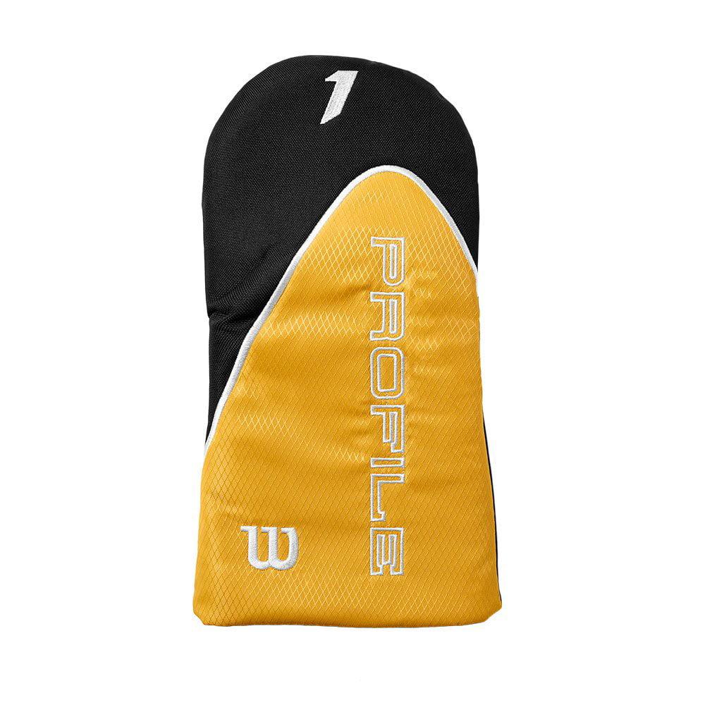 Wilson Profile XD Mens RH Graphite Steel Golf Club Stand Bag Set and Rangefinder