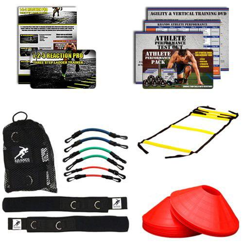 Kbands Football Pro Kit (Kbands + Speed Ladder + Agility Cones + Digital Training Programs)