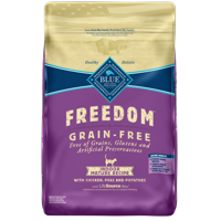 Blue Buffalo Freedom Grain Free Natural Indoor Mature Dry Cat Food, Chicken, 11-lb.