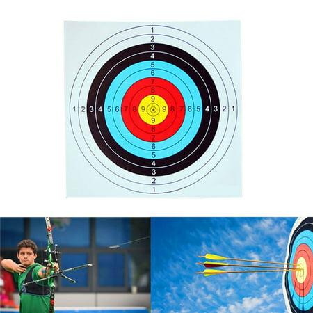 HiCoup 10Pcs Color Printed Standard Arrow Bow Shooting