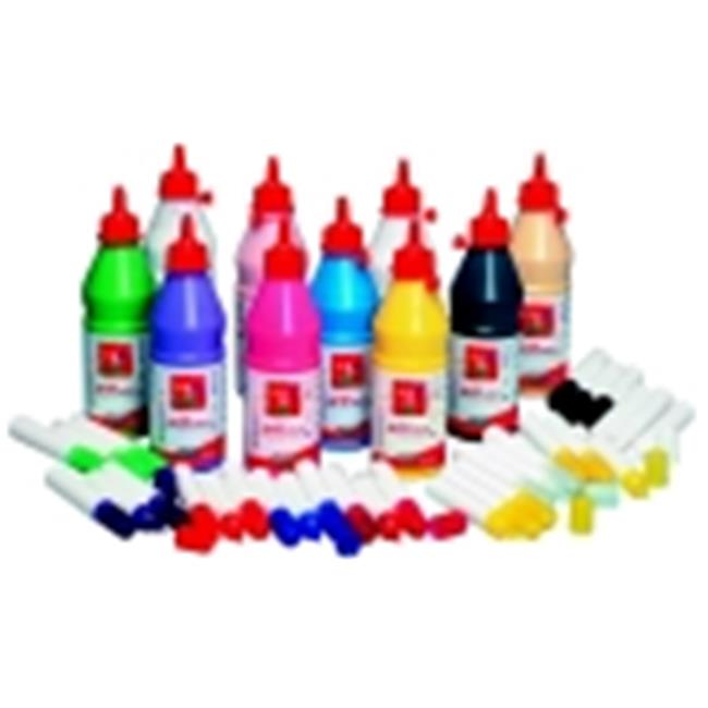 Pebeo Non-Toxic Arti Stick Peel And Stick Classroom Pack & 1 Pint Bottle, Pack 10