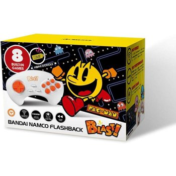 Bandai Namco Flashback Blast! Pac-Man PAC-MANIA Retro Gaming Console