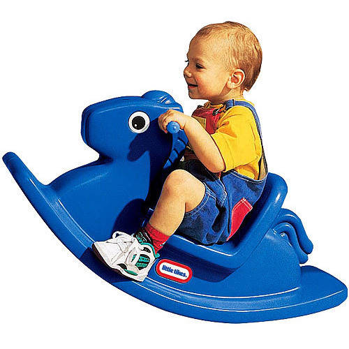 Little Tikes Rocking Horse, Primary Blue by Little Tikes