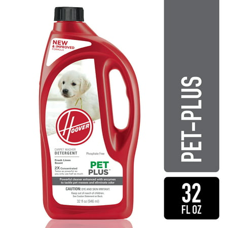 Hoover Pet Plus Carpet Shampoo 32 Oz, AH30325NF (Hoover Carpet Cleaner Pet)