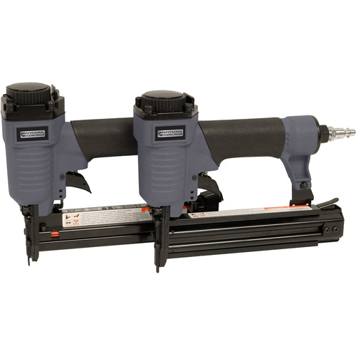 Professional Woodworker Pneumatic Brad Nailer and Air Stapler Combo Tool Kit