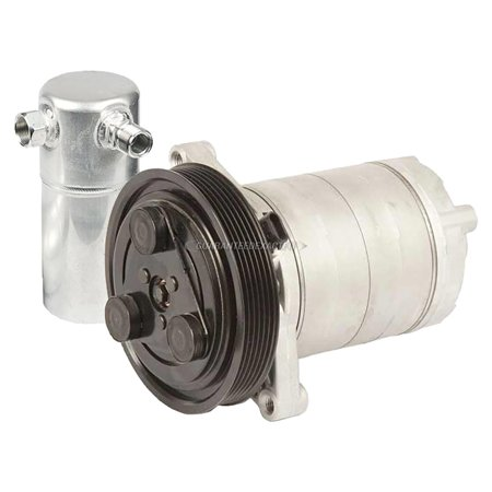 AC Compressor w/ A/C Drier For Oldsmobile Cutlass Ciera 1990 1991 1992