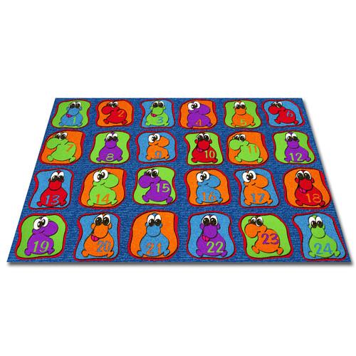Kid Carpet Cute Little Creatures Seating Kids Rug