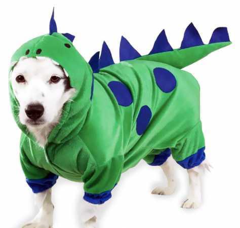 Casual Canine Dogzilla Dinosaur Costume  XSMALL