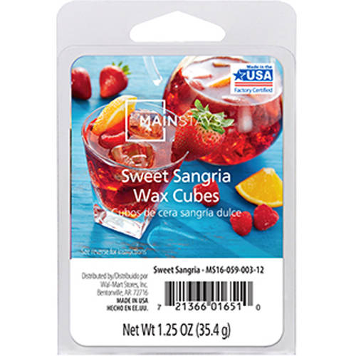 Mainstays Sweet Sangria Wax Cubes