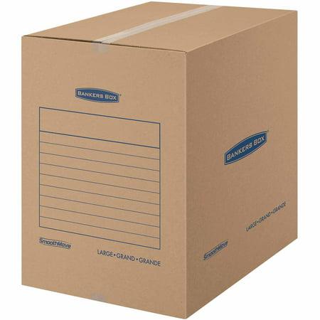Bankers Box Smoothmove Basic Storage And Moving Large 7pk