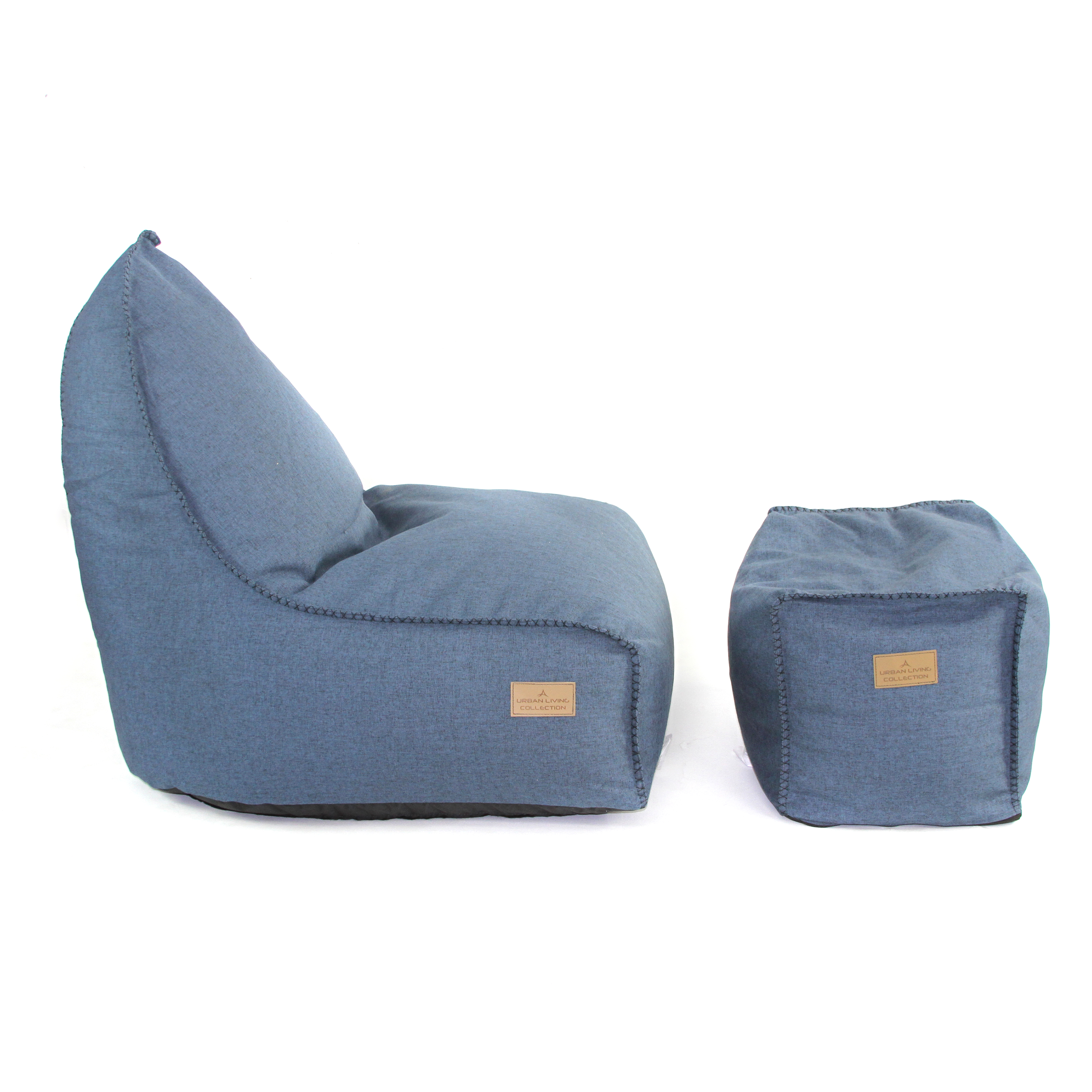 American Furniture Alliance Bean Bag Lounger Image 2 Of 7