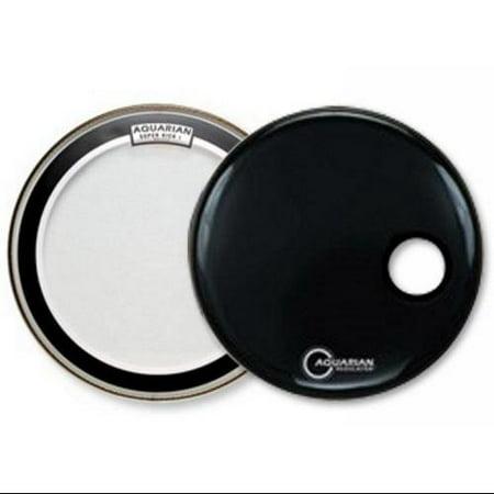aquarian 20 super kick ii bass drum head pre pack. Black Bedroom Furniture Sets. Home Design Ideas